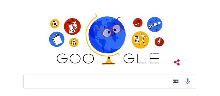 शिक्षक दिवस को समर्पित किया गूगल ने अपना डूडल