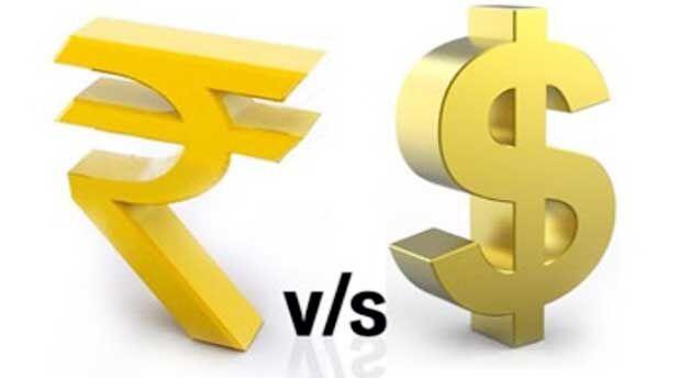 रुपया भी रिकॉर्ड गिरावट के चलते एक डॉलर के मुकाबले 75 के स्तर पर