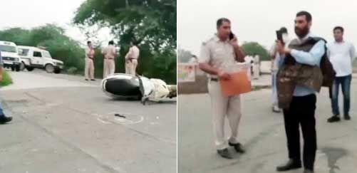 अलीपुर में स्पेशल सेल व टिल्लू गैंग के बीच मुठभेड़, तीन बदमाश गिरफ्तार