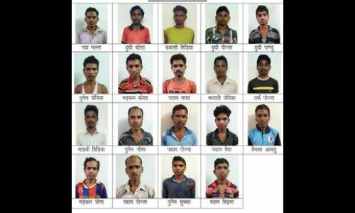 सुकमा में सुरक्षाबलों को मिली बड़ी कामयाबी, 19 नक्सली गिरफ्तार