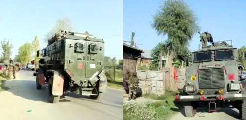 हंदवाड़ा में सुरक्षाबलों ने दो आतंकियों को मार गिराया
