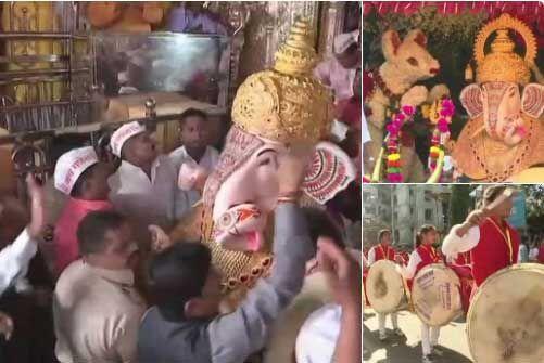 गणेशमय हुआ मुंबई महानगर, इतने पंडालों में हुई गणपति प्रतिमा की स्थापना