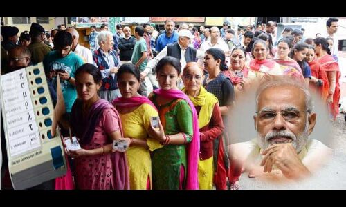 पीएम पर अभद्र टिप्पणी का जनता चुनाव में कांग्रेस को देगी करारा जवाब