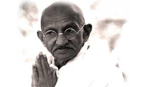 गांधी जयंती के उपलक्ष्य में कांग्रेस की रामधुन