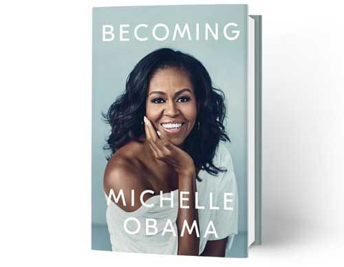 मिशेल ओबामा की नई पुस्तक को लेकर लोग उत्साहित
