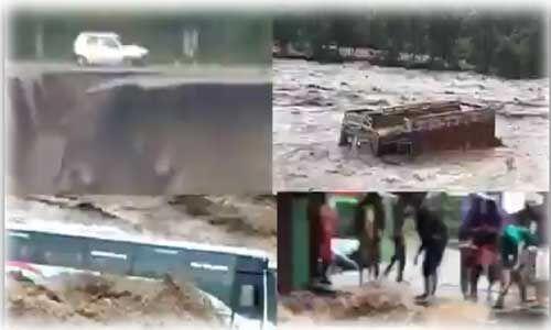 उत्तर भारत में लगातार बारिश से बिगड़े हालात, भूस्खलन से 378 सड़कें बाधित