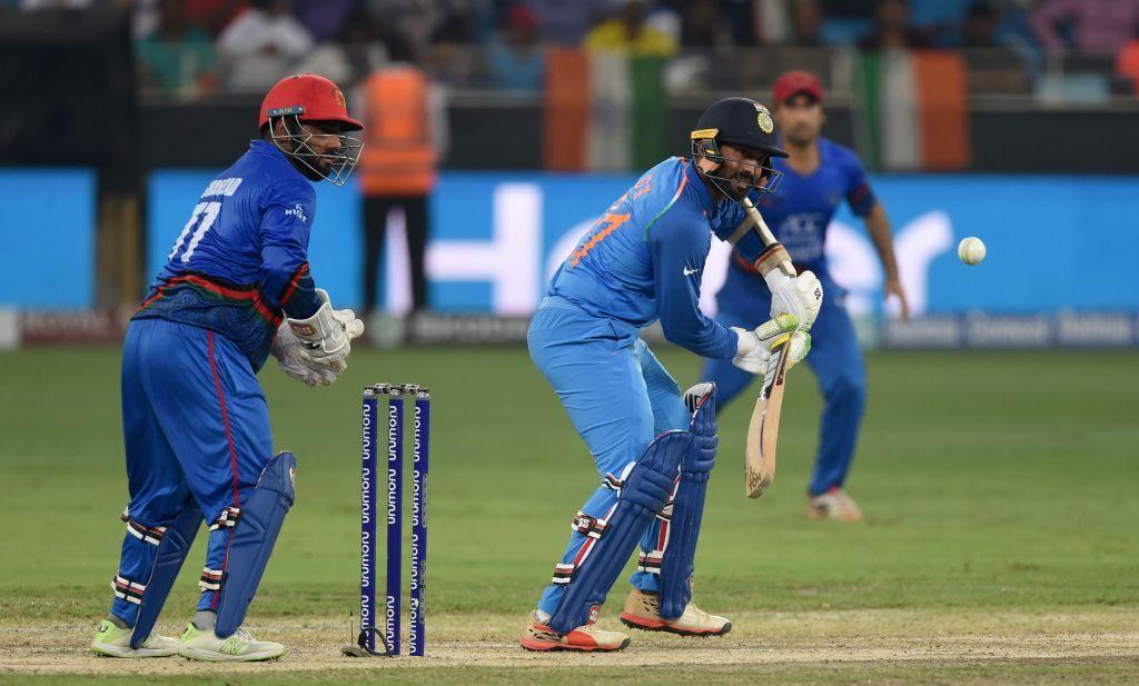 एशिया कप : भारत और अफगानिस्तान का मैच हुआ टाई