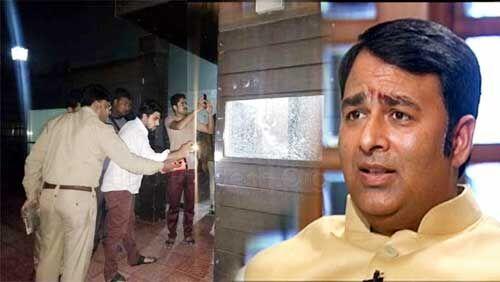 मेरठ : भाजपा विधायक संगीत सोम के घर हैंड ग्रेनेड से हमला, ताबड़तोड़ फायरिंग, जांच में जुटी पुलिस