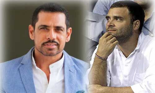 कांग्रेस अध्यक्ष के रुप में काम कर रहे हैं वाड्रा