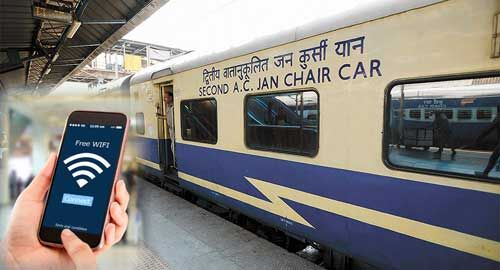 अगले चार महीनों में रेलवे के सभी स्टशनों पर होगी मुफ्त वाईफाई सुविधा