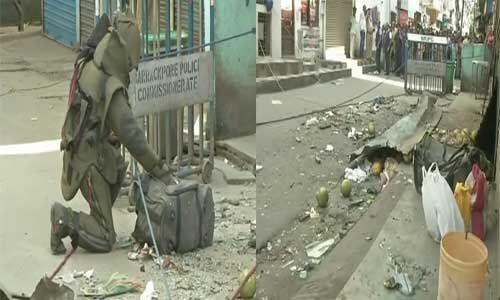पश्चिम बंगाल के दम दम बाजार में हुआ बिस्फोट, चार लोग बुरी तरह घायल