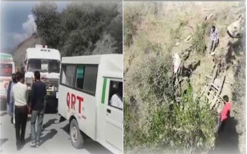 रामबन में सड़क हादसा, 15 लोगों की मौत, 19 घायल