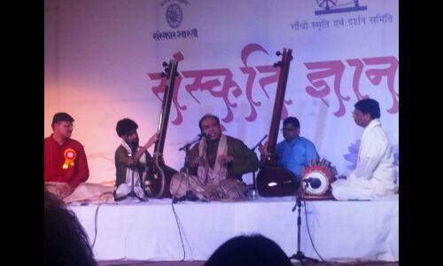 मन की पूर्ण शान्ति का जरिया है ध्रुपद गायकी : वसिफुद्दीन