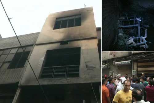 लुधियाना में होजरी फैक्ट्री में लगी आग, फायर ब्रिगेड की गाड़ियां मौके पर पहुंची