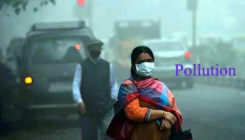 दिल्ली में लगातार बढ़ रहा है प्रदूषण, एक्यूआई 169 पार