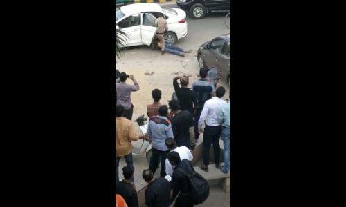 गुरुग्राम : गनर की गोली से घायल जज की पत्नी ने दम तोड़ा, बेटे की हालात गंभीर