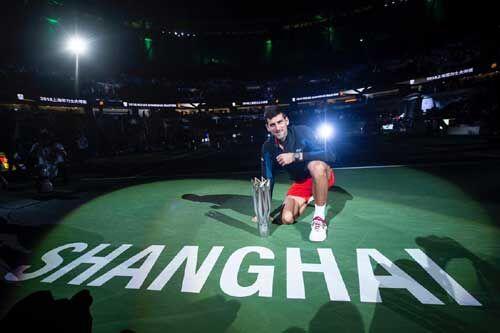 नोवाक जोकोविच ने चौथी बार जीता शंघाई मास्टर्स खिताब