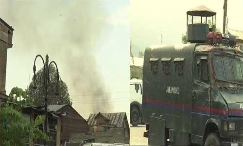 जम्मू कश्मीर : सुरक्षाबलों के साथ मुठभेड़ में 3 आतंकी ढेर, एक जवान शहीद