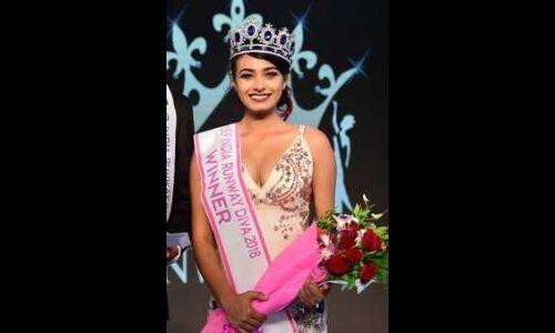 रिम्पल राय ने जीता मिस इंडिया रनवे का अवार्ड