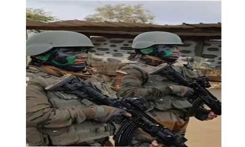 सुरक्षाबलों ने चार आतंकवादियों को मार गिराया