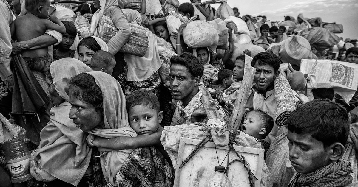 रोहिंग्या शरणार्थियों ने भारत सरकार से की अपील, म्यांमार पर वापसी के लिए बनाए दबाव