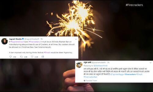 अब सोशल मीडिया पर फूट रहे दीपावली पटाखे