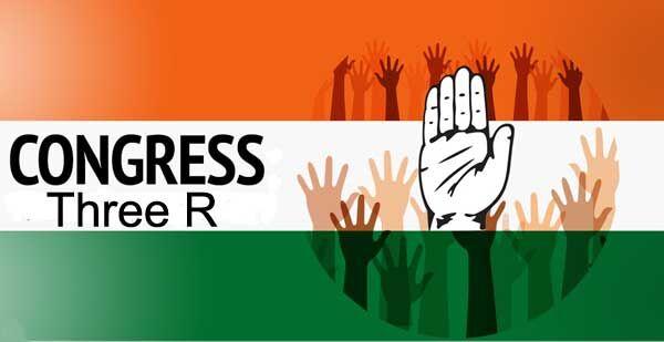 थ्री आर को कांग्रेस बनायेगी चुनावी मुद्दा, संसद की कार्यवाही करेगी ठप