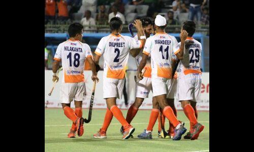 भारतीय पुरूष हॉकी टीम एशियन चैम्पियंस ट्रॉफी के सेमीफाइनल में