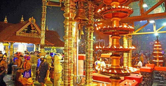 दिवाली की पूर्व संध्या पर खुला शबरीमाला मंदिर