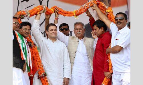 कांग्रेस सरकार बनते ही 10 दिनों में होगा किसानों का कर्जा माफ : राहुल गांधी