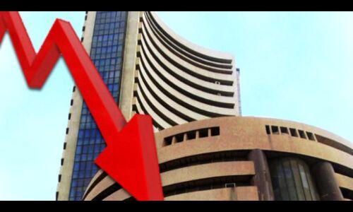 शेयर बाजार गिरावट के साथ हुआ बंद, सेंसेक्स 298 अंक लुढ़का