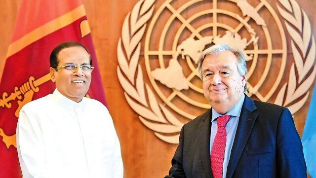संयुक्त राष्ट्र महासचिव, अमेरिका और ब्रिटेन ने श्रीलंकाई राष्ट्रपति के फैसले पर जताई चिंता
