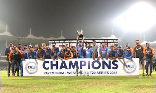 #T20 : भारत ने वेस्टइंडीज को 6 विकेट से हराया, 3-0 से जीती सीरीज