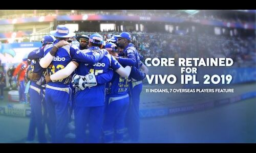 आईपीएल 2019 : मुम्बई ने रोहित शर्मा सहित 18 खिलाड़ियों को बरकरार रखा