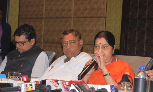 सुषमा स्वराज का एलान, अब कभी नहीं लड़ेंगी लोकसभा चुनाव