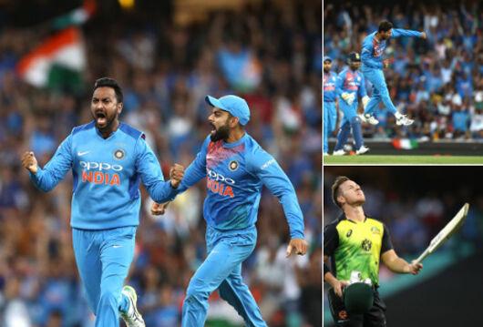 भारत ने तीसरे टी-20 में ऑस्ट्रेलिया को 6 विकेट से हराया, श्रृंखला 1-1 से बराबर