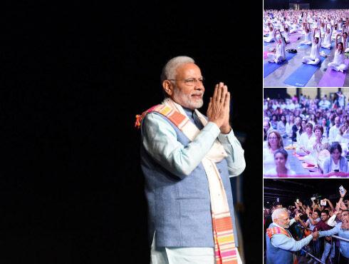 अर्जेंटीना में योग महोत्सव में शामिल हुए प्रधानमंत्री मोदी