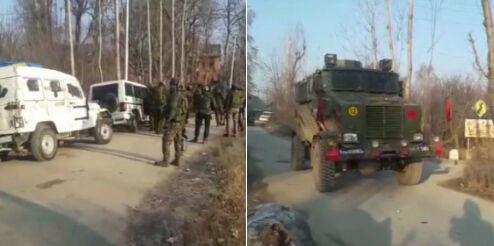 पुलवामा में हिजबुल के 3 आतंकी ढेर, पत्थरबाजों पर सेना की कार्रवाई में 7 की मौत