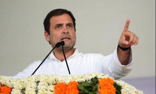 कांग्रेस सरकार आते ही देश के सभी किसानों का कर्जा होगा माफ : राहुल गांधी