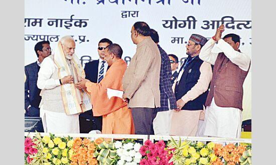 प्रधानमंत्री ने कहा, विकास की पंच धारा पढ़ाई, कमाई,  दवाई, सिंचाई और  सुनवाई