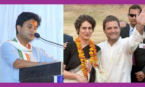 ज्योतिरादित्य सिंधिया का कद बढ़ा कर राहुल ने साधे एक तीर से दो निशाने