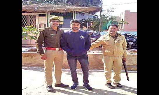 दूसरे दिन भी पुलिस भर्ती परीक्षा में पकड़े दो मुन्नाभाई