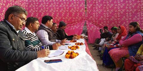 भाजपा शिवाजी मण्डल की कार्यशाला में बूथ विजय पर जोर