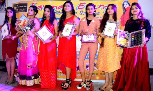 रॉयल थीम पर आयोजित हुआ फैशन शो