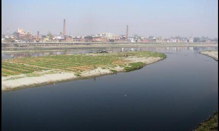 यमुना नदी को बचाने के लिए शुरू की गई पदयात्रा