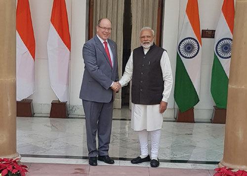 प्रधानमंत्री मोदी और मोनाको प्रिंस अल्बर्ट द्वितीय मिलें, भारत-मोनाको संबंधों के नए युग की शुरुआत
