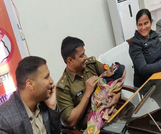 एसएसपी ने पेश की ममता की मिशाल