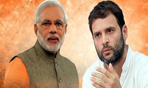मोदी वाराणसी से आगे, राहुल अमेठी से पीछे