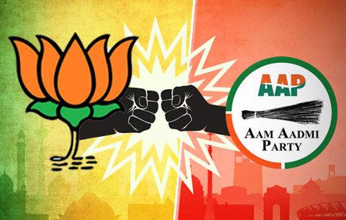 दिल्ली में वोटरों के नाम काटे जाने के मुद्दे पर आप और भाजपा आमने-सामने