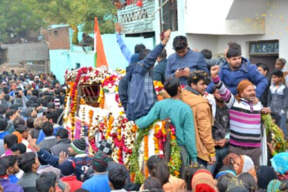 शहीद कौशल किशोर रावत का राजकीय सम्मान के साथ अंतिम संस्कार